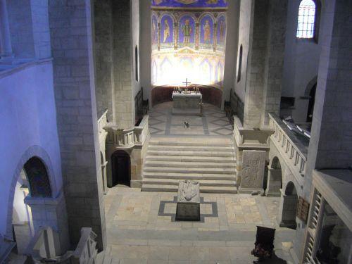 2017-Stiftskirche-Gernrode-Gerothumba-von oben