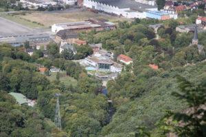 Blick vom Hexentanzplatz über Thale (Andrea Hundt