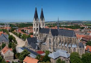 Dom und Domplatz in Halberstadt