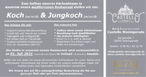Koch & Jungkoch - Castello Wernigerode