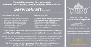 Servicekraft - Castello Wernigerode